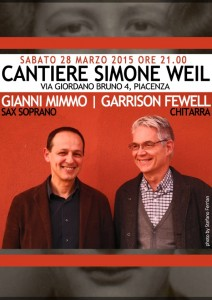 MIMMO FEWELL CANTIERE SIMONE WEIL